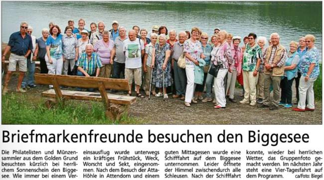 Briefmarkenfreunde Bad Camberg e. V. Verein für Bfm.- + Münzsammler
